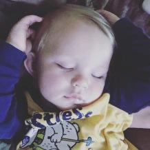 lance asleep
